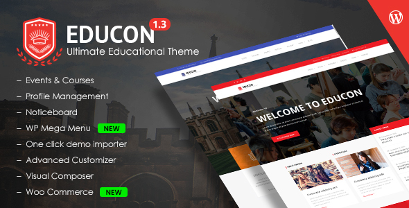 Image of Educon - Education WordPress Theme
