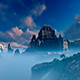Castle In The Fog - VideoHive Item for Sale