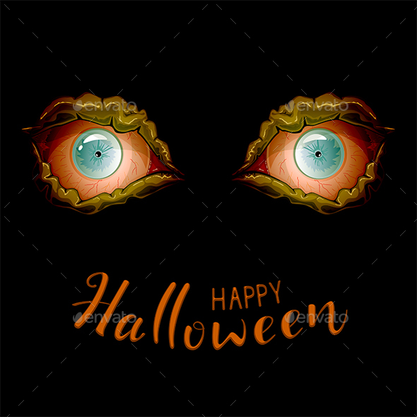 Scary Eyes for Halloween - Halloween Seasons/Holidays