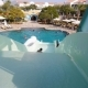 Child Is Riding a Water Slide in Water Park - VideoHive Item for Sale