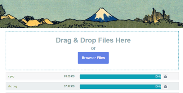 CodeCanyon Contact Form 7 Drag and Drop FIles Upload Multiple Files Upload 20683653