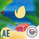 Sunny Beach Logo Opener - VideoHive Item for Sale