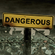 Dangerous Sign Matte Painting Animation