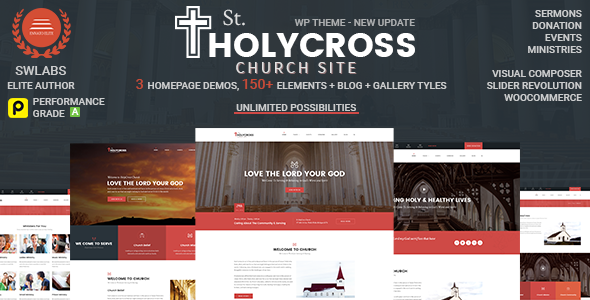 Image of Church WordPress | HolyCross Church