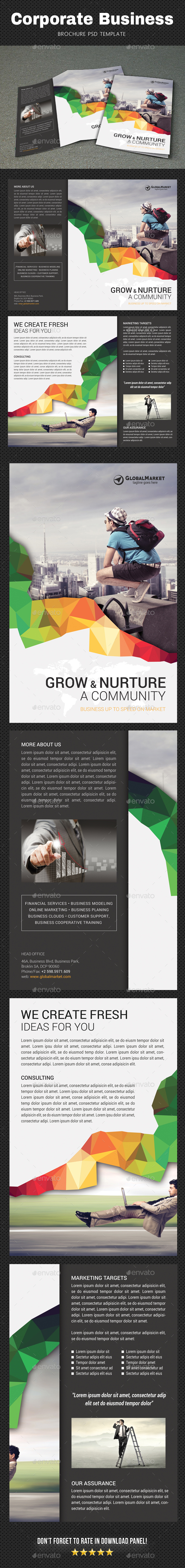 Corporate Brochure 2 - Brochures Print Templates