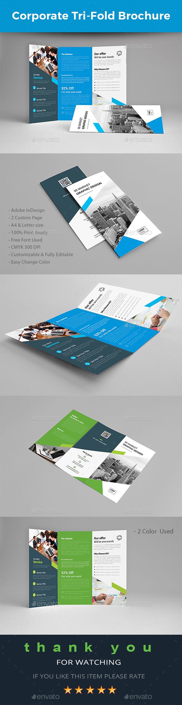 GraphicRiver Tri-fold Brochure 20762406