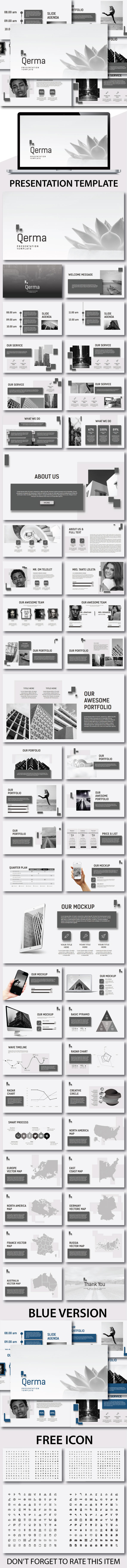 Qerma Powerpoint Template - PowerPoint Templates Presentation Templates