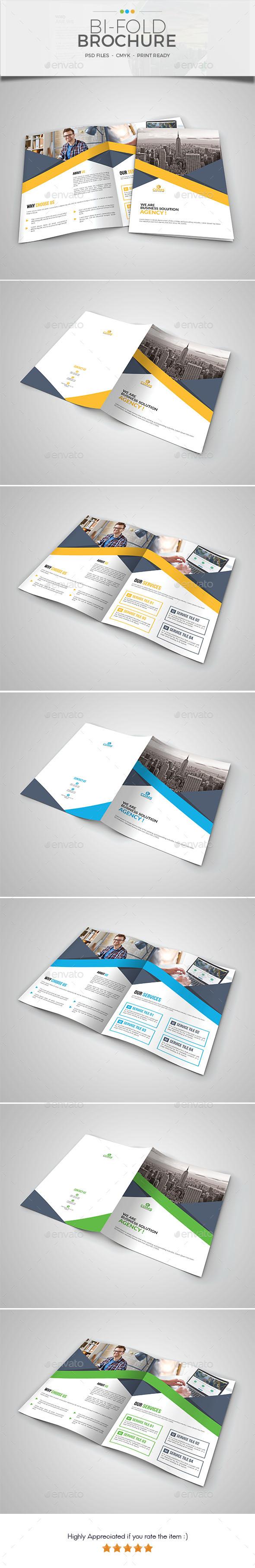 Corporate Bi-Fold Brochure Template 06 - Corporate Brochures