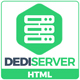 DediServer - WebHosting HTML5 Responsive Template - ThemeForest Item for Sale