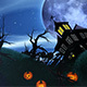 Halloween Background Looped 4K - VideoHive Item for Sale