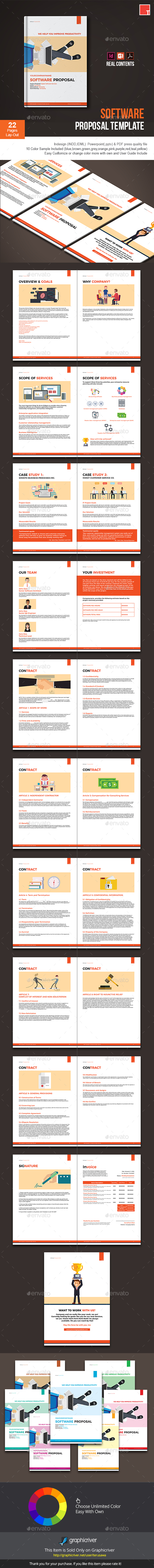 GraphicRiver Software Proposal Template 20762671