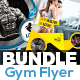 Fitness & Gym Flyers Templates