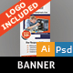 Computer Repair Banner - GraphicRiver Item for Sale