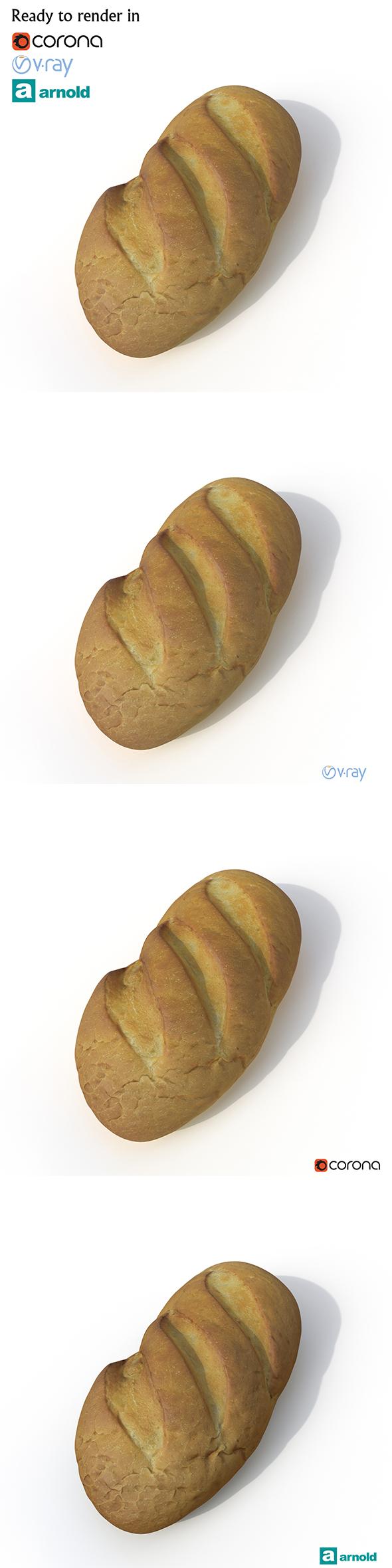 3DOcean Bread 20763365