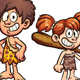 Prehistoric Kids - GraphicRiver Item for Sale