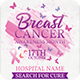 Breast Cancer Awareness Month Flyer PSD