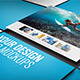 Floating UI/UX Photoshop Mockups (5 files - 4K Res) - GraphicRiver Item for Sale