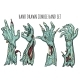 Zombie Hand Set - GraphicRiver Item for Sale