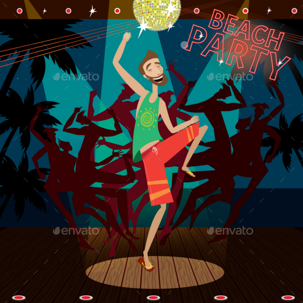 GraphicRiver Beach Party 20763805