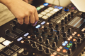 Soundman at audio board