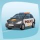 Isolated Patrol Car