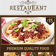 Restaurant Flyer (A4) - GraphicRiver Item for Sale