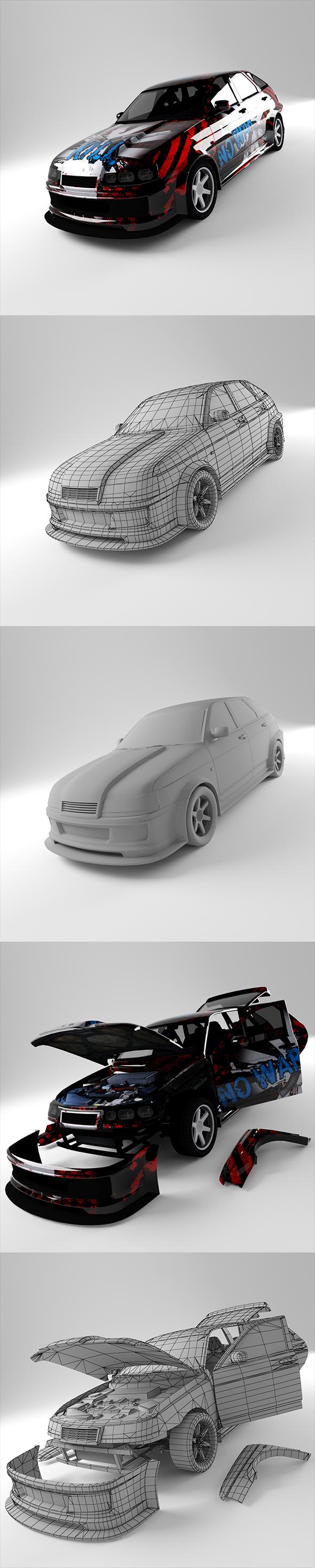 3DOcean Lada 21012 20764316