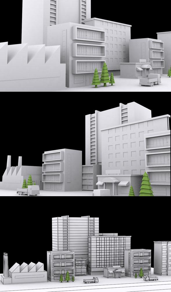 3DOcean VR Building Vol 20764360