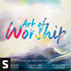 The Art of Worship CD Album Artwork