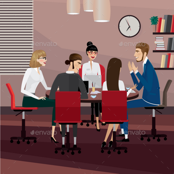 Business People Meeting - Business Conceptual