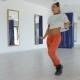 Expressive Dancer in Studio