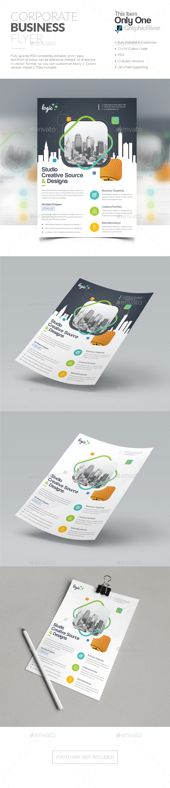 GraphicRiver Flyer 20764907