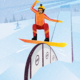 Extreme Athlete Moves Down on a Snowboard - GraphicRiver Item for Sale
