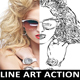 Advanced Line Art Action - GraphicRiver Item for Sale