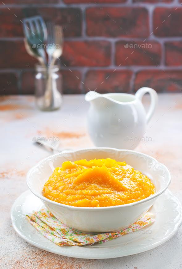 pumpkin porridge - Stock Photo - Images