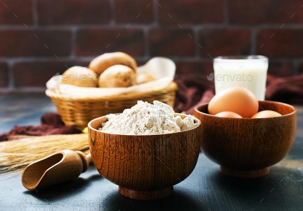 baking ingredient - Stock Photo - Images