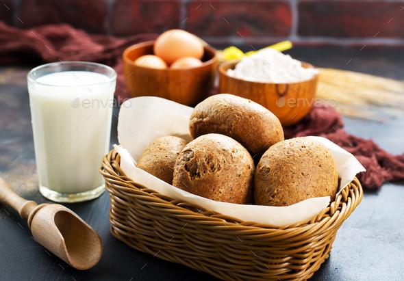 fresh wheat bread - Stock Photo - Images