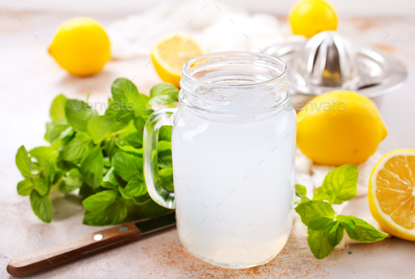 lemon juice - Stock Photo - Images