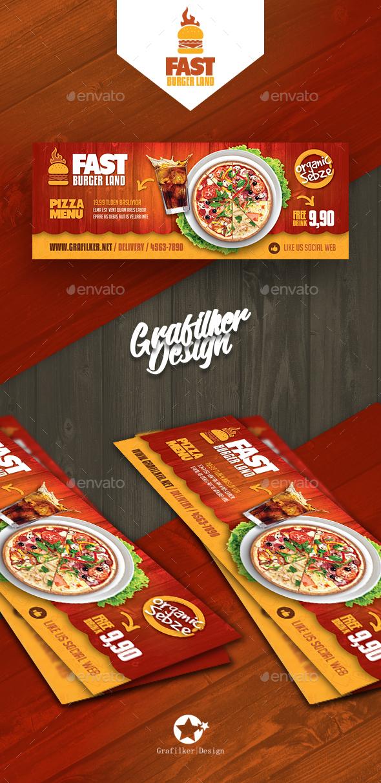 GraphicRiver Restaurant Cover Templates 20766258