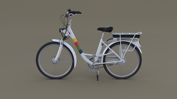 Electric City Bicycle - 3DOcean Item for Sale
