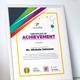 Certificate Design Template | Certificate of Achievement