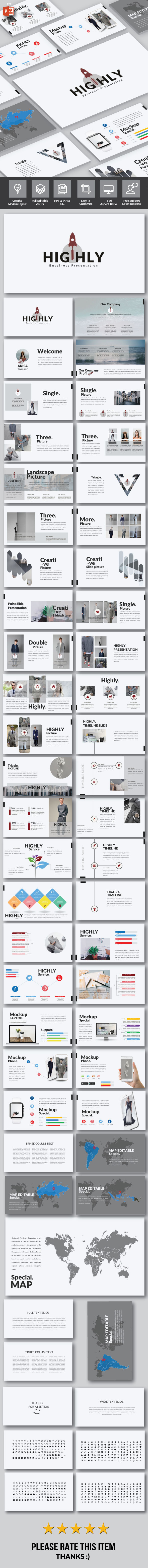 Highly - Multipurpose Powerpoint - Business PowerPoint Templates