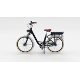 Electric City Bicycle Black