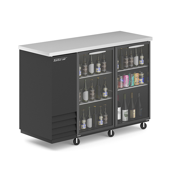 3DOcean Fridge with Beer Bottles and Cans 20766493