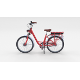 Electric City Bicycle Red - 3DOcean Item for Sale