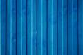Blue cargo ship container texture.