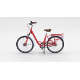 City Bicycle Red