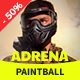 Adrena | Paintball Club WordPress Theme