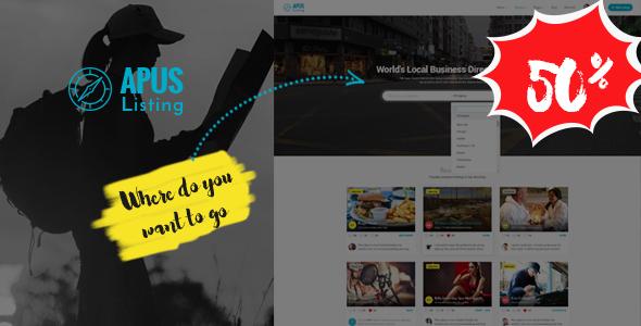 Image of ApusListing - Directory & Listing WordPress Theme