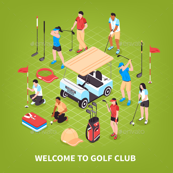 Golf Club Concept - Sports/Activity Conceptual